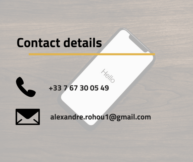 contact details phone number email